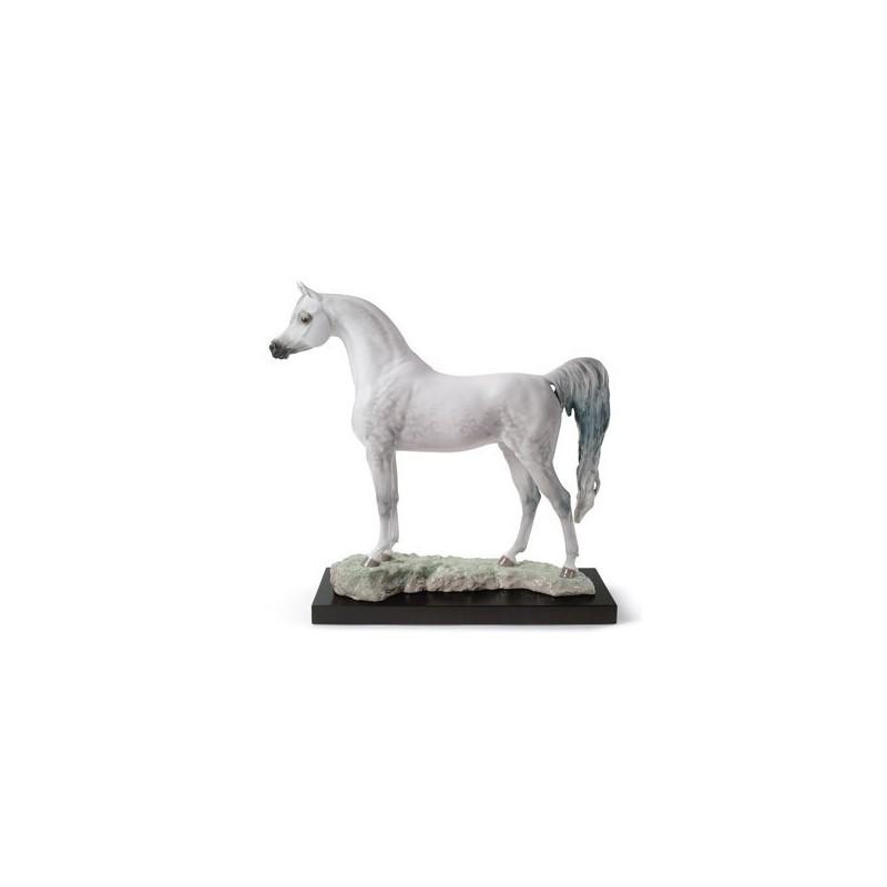 Figura de porcelana de Lladró Pura Raza Árabe