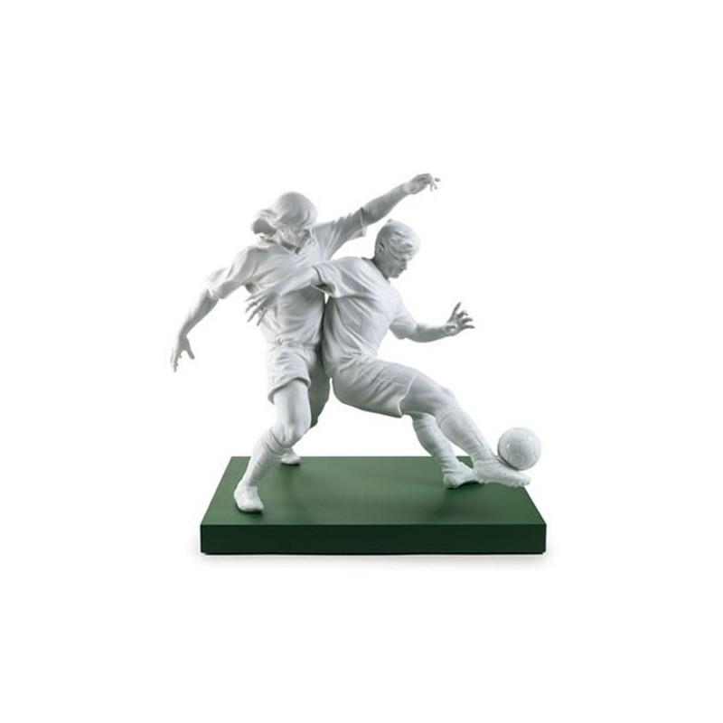 Figura de porcelana de Lladró Champions Team (con peana)
