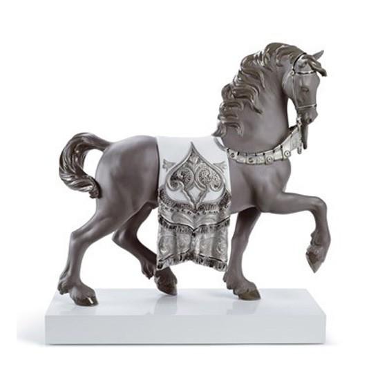 Figura de porcelana de Lladró  Caballo Cortesano (Re-deco)