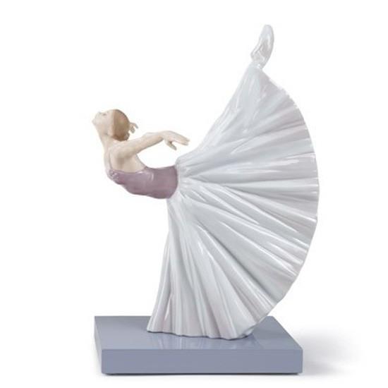 Figura de porcelana de Lladró Giselle Arabesco