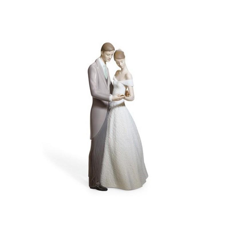 Figura de porcelana de Lladró Unidos para Siempre