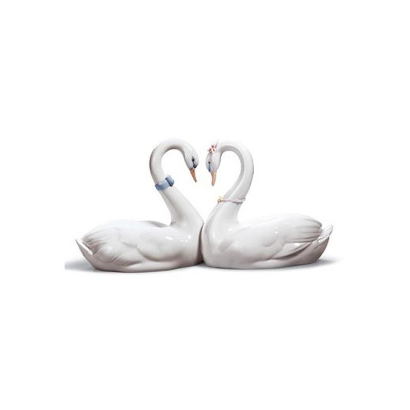 Figura de porcelana de Lladró Corazón Blanco