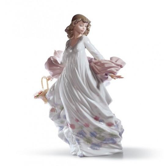 Figura de porcelana de Lladró Esplendor Primaveral