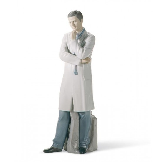 Figura de porcelana de Lladró Doctor