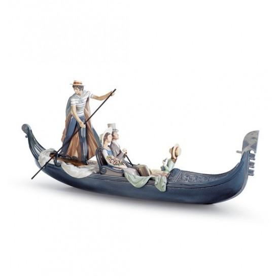 Figura de porcelana de Lladró En la Gondola