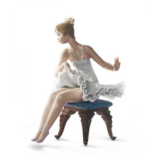 Figura de porcelana Lladró Ballet Descanso