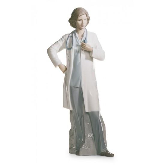 Figura de porcelana de Lladró Doctora