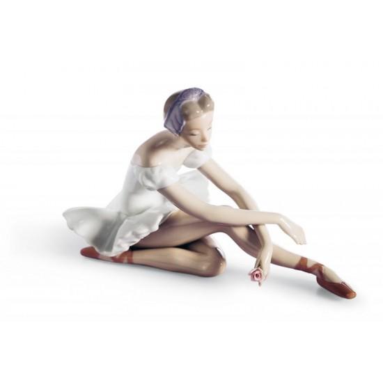 Figura de porcelana Lladró Ballet de la rosa