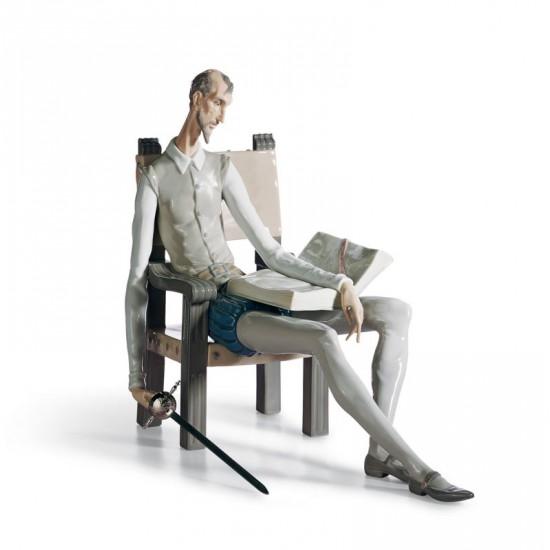 Figura de porcelana de Lladró Don Quijote