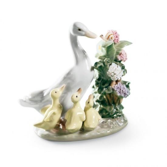 Figura de porcelana de Lladró Caracol en peligro