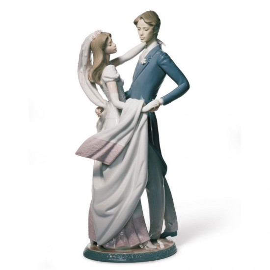 Figura de porcelana de Lladró Baile de boda