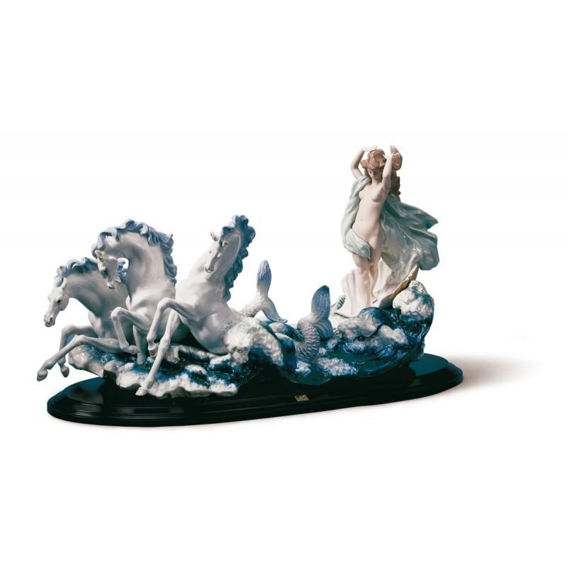 Figura de porcelana de Lladró  El nacimiento de Venus
