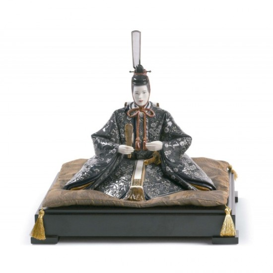 Figura de porcelana Lladró Hina Dolls - Emperador