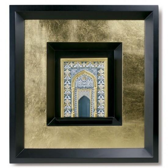 Mihrab - verde (enmarcado)