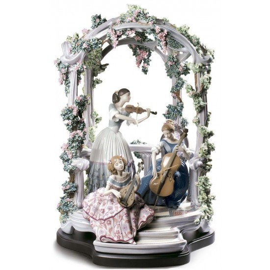 Figura de porcelana Lladró Sinfonía estival