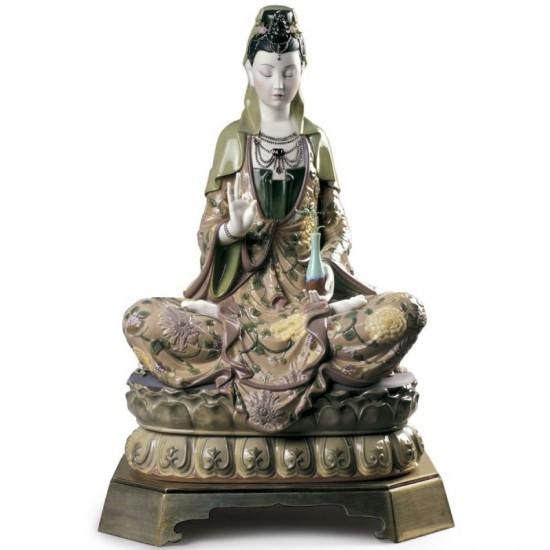 Figura de porcelana Lladró Kwan Yin