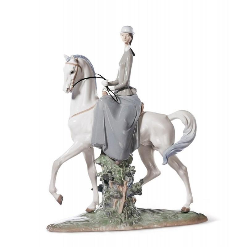 Figura de porcelana de Lladró Amazona