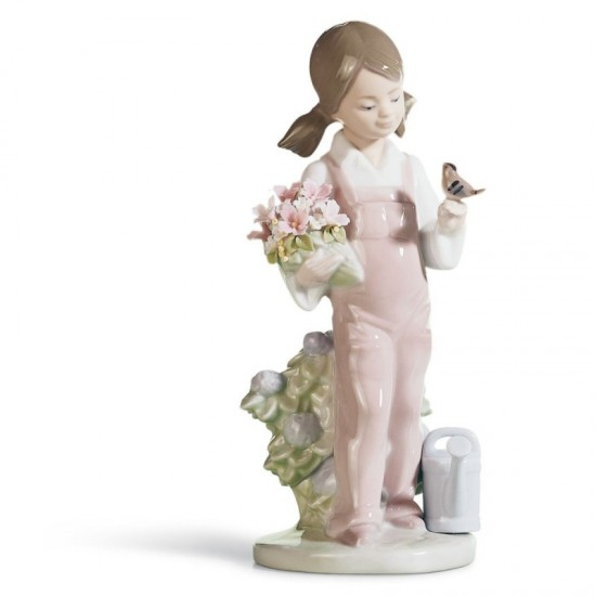 Figura de porcelana de Lladró Primavera infantil