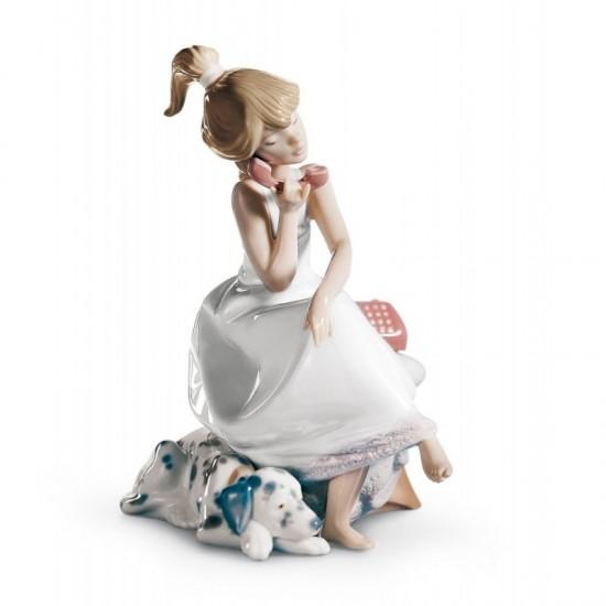 Figura de porcelana de Lladró Confidencias