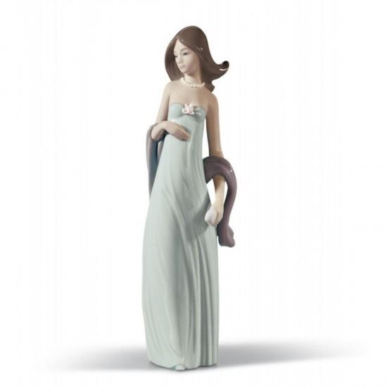 Figura de porcelana de Lladró Vestido de noche