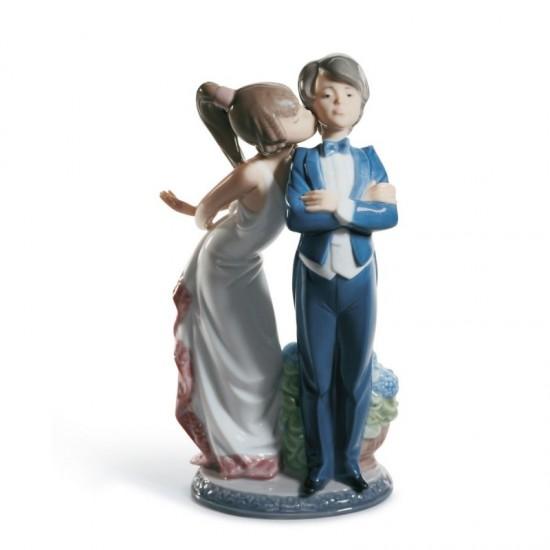 Figura de porcelana de Lladró ¡No insistas!