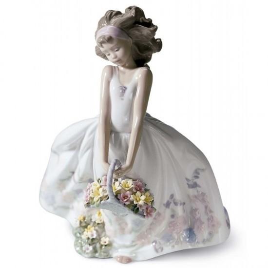 Figura de porcelana de Lladró Flores silvestres