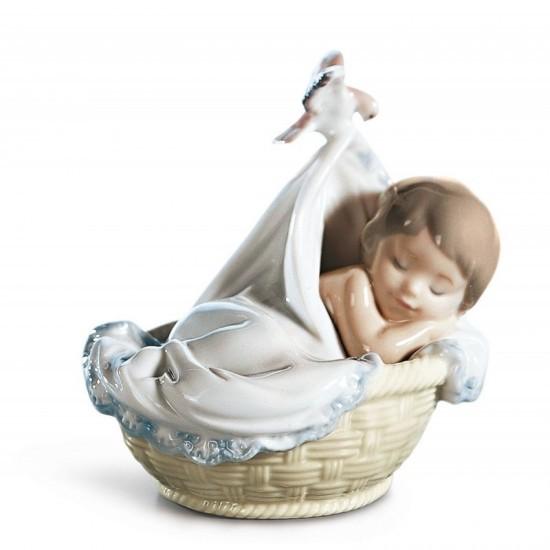 Figura de porcelana de Lladró Tiernos sueños