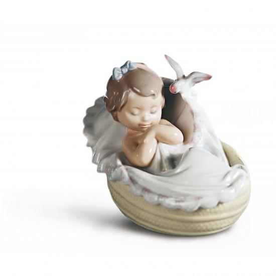 Figura de porcelana de Lladró Dulces sueños