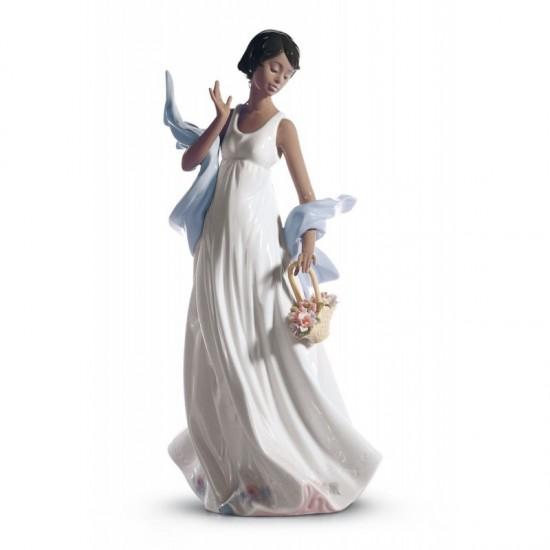 Figura de porcelana de Lladró Brisa romántica