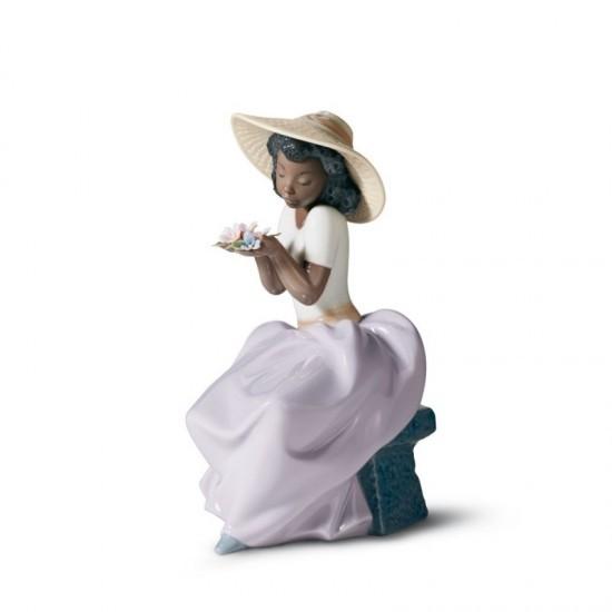 Figura de porcelana de Lladró Dulce perfume