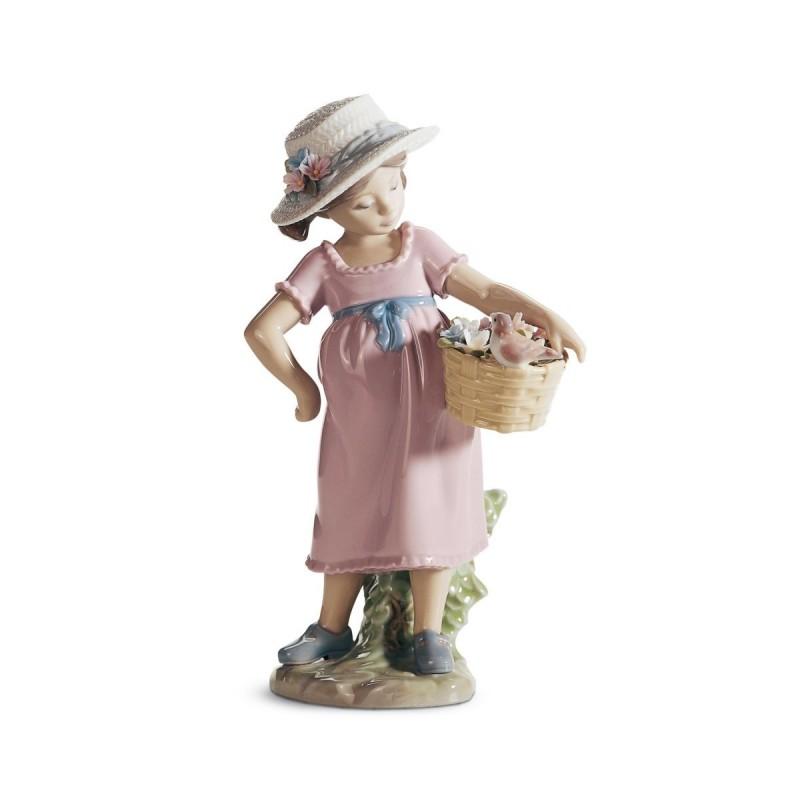 Figura de porcelana de Lladró ¡Qué gracioso eres!