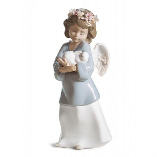 Figura de porcelana de Lladró Cariño celestial