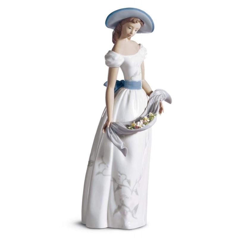 Figura de porcelana de Lladró Fragancias y colores