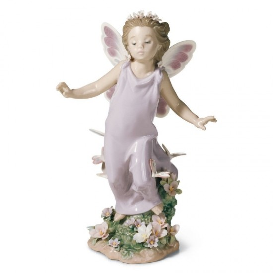 Figura de porcelana de Lladró Alas de mariposa