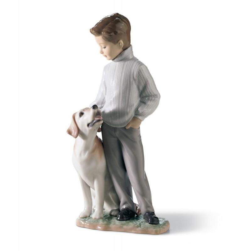 Figura de porcelana de Lladró Mi amigo más fiel