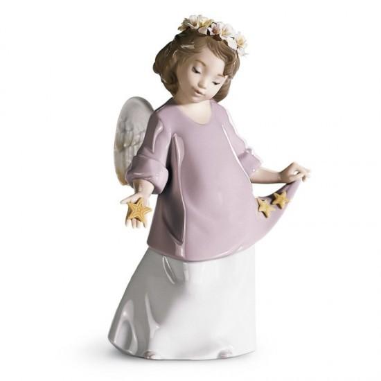 Figura de porcelana de Lladró Mis estrellas celestiales