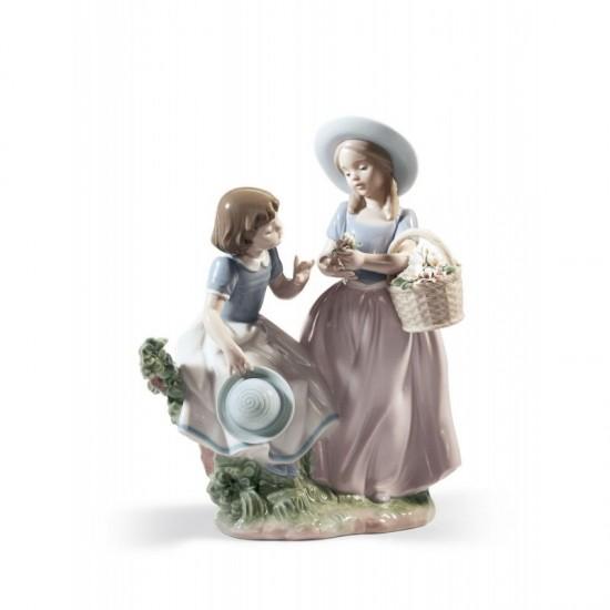 Figura de porcelana de Lladró Mi mejor amiga