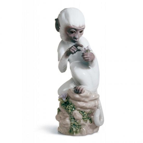 Figura de porcelana de Lladró El Mono