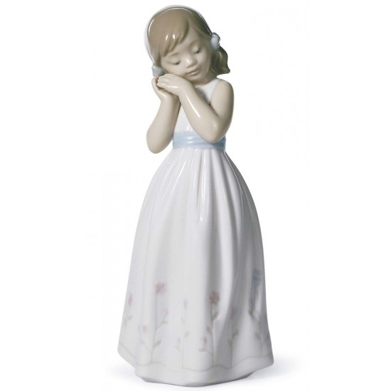 Figura de porcelana de Lladró Mi dulce princesa