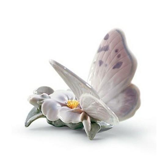 Figura de porcelana de Lladró Mariposa de Abril