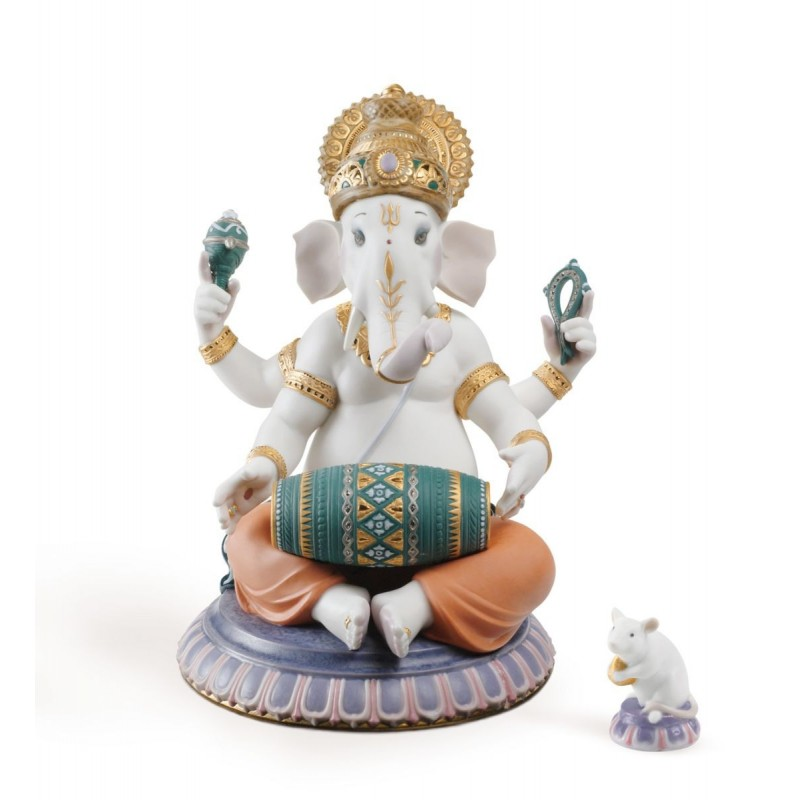 Ganesha con mridangam (Serie limitada)
