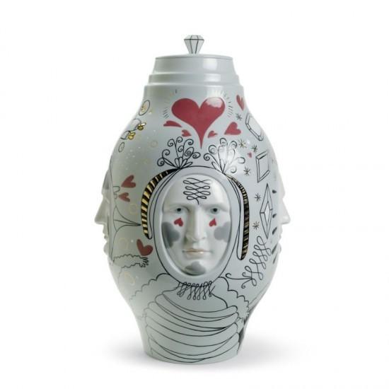 Small Conversation Vase