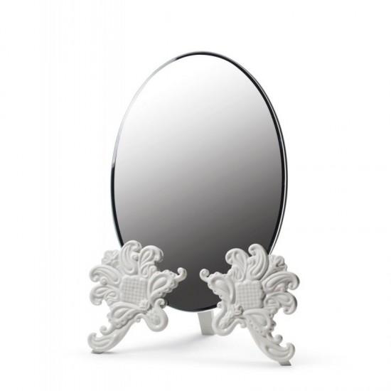 Espejo tocador (blanco)