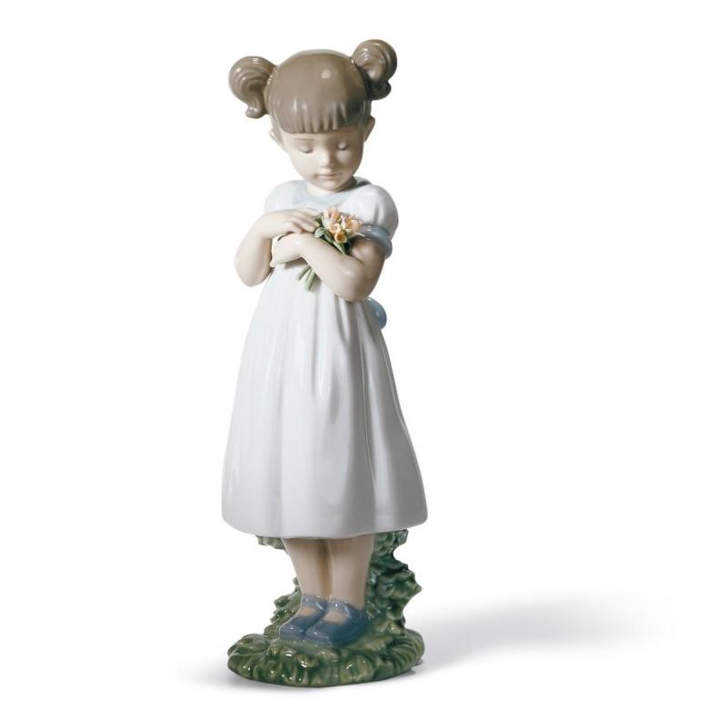 Figura de porcelana de Lladró Flores para mamá