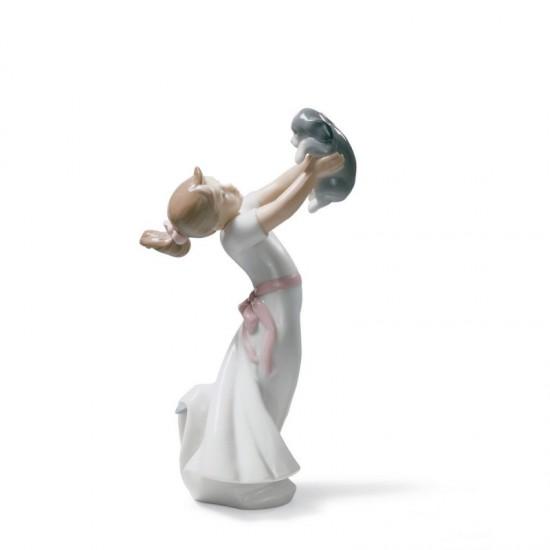 Figura de porcelana de Lladró Seremos grandes amigos