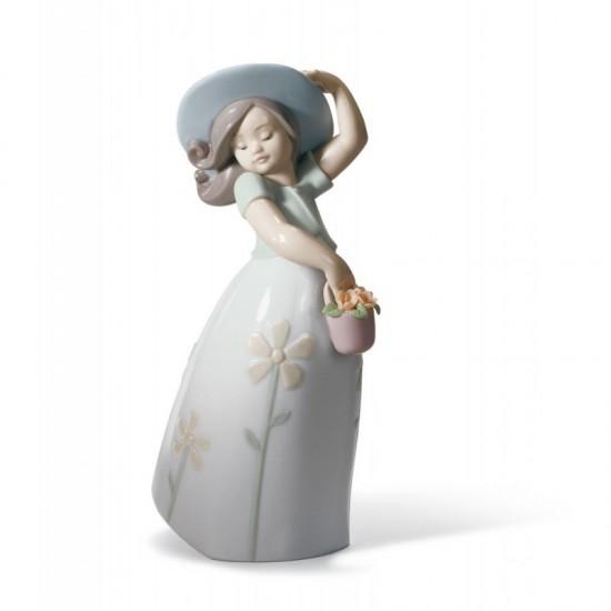 Figura de porcelana de Lladró Pequeña Margarita
