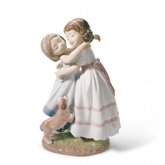 Figura de porcelana de Lladró ¡Dame un abrazo!