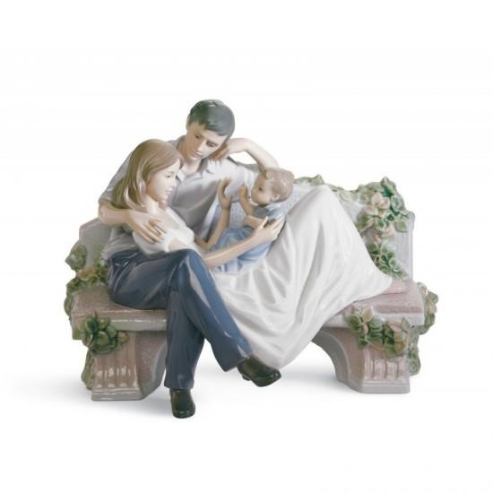 Figura de porcelana de Lladró Juntos y felices