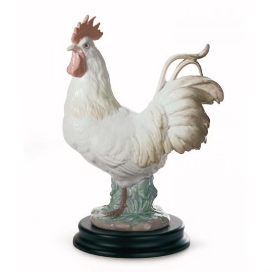Figura de porcelana de Lladró El Gallo
