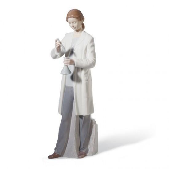 Figura de porcelana de Lladró En el laboratorio